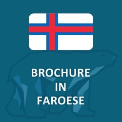 Brochure in Faroese