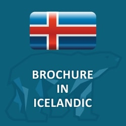 Brochure in Icelandic