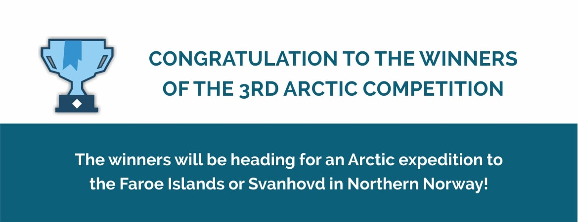 3rd Arctic Competition winners